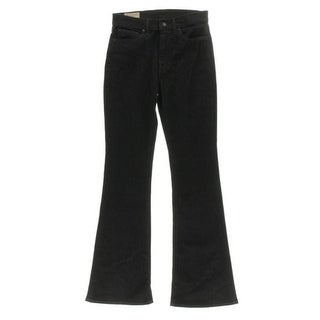 Polo Ralph Lauren NEW Black Womens Size 26 Flare Leg Denim Jeans