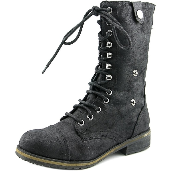 Madden Girl Destinn Women Black Boots