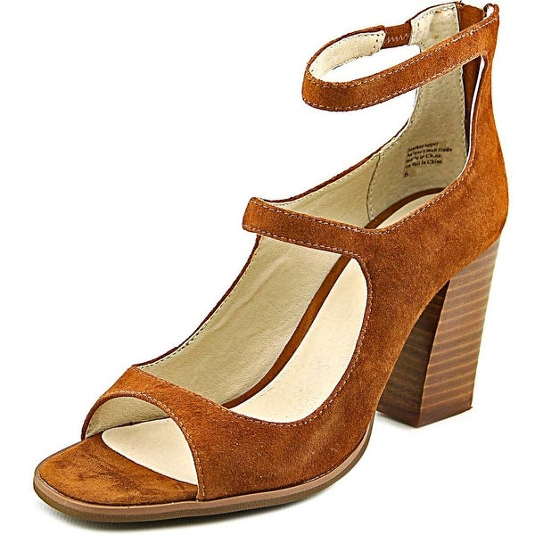 Seychelles Radical Women Open Toe Suede Brown Sandals
