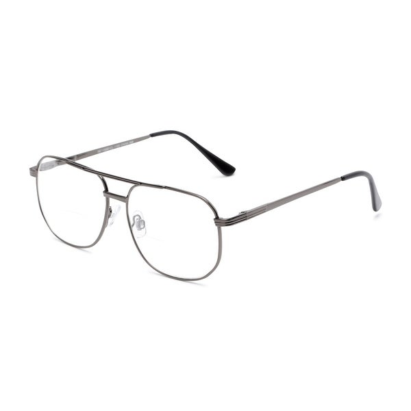 Readers.com The Whitman Bifocal Aviator Reading Glasses. Opens flyout.
