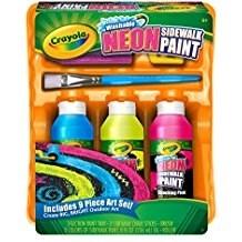 Crayola - Sidewalk Paint Tray Set - Crayola Sidewalk Paint Tray Set