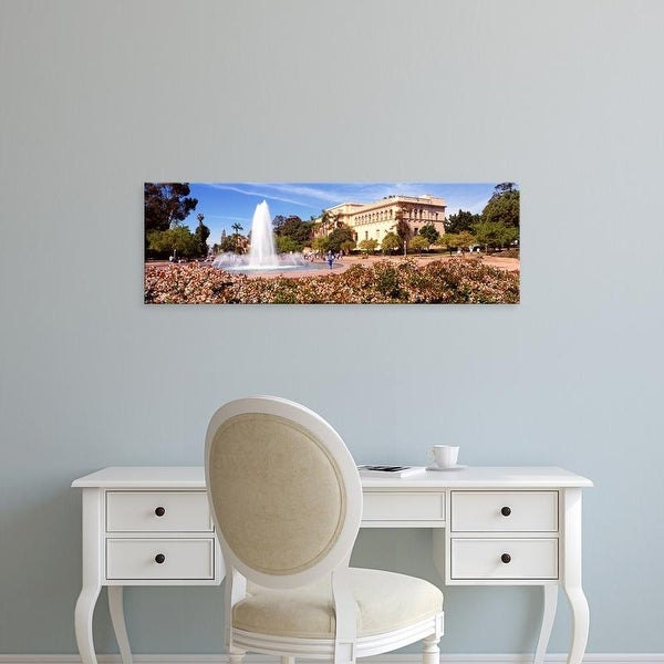 Easy Art Prints Panoramic Images's 'San Diego CA' Premium Canvas Art