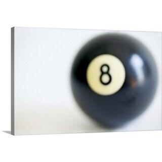 """""""8 ball"""" Canvas Wall Art"""