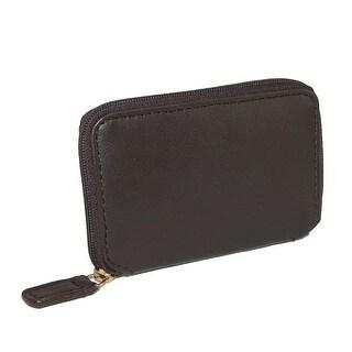 Winn International Men's Leather Zip Around Key Case - One size