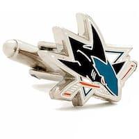 NHL PD-SJS-SL San Jose Sharks Cufflinks