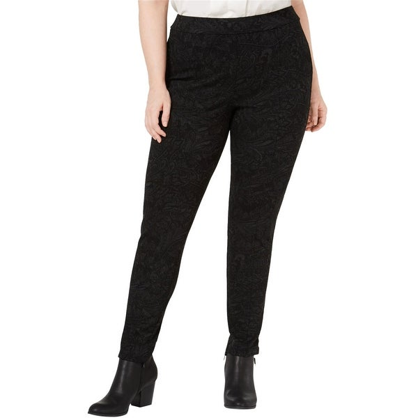 Style & Co. Womens Seam-Front Casual Leggings. Opens flyout.