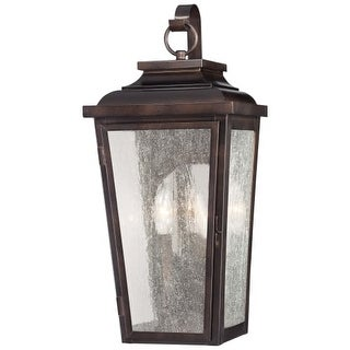 The Great Outdoors 72170-189 2 Light Outdoor Wall Sconce from the Irvington Manor Collection