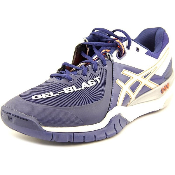 Asics Gel-Blast 6 Men Round Toe Synthetic Blue Running Shoe