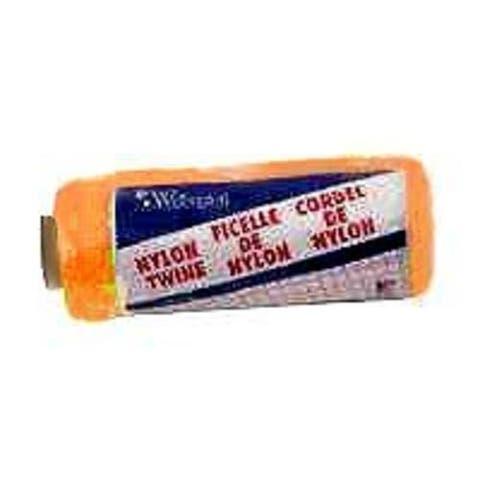 Wellington 46301 Nylon Twine, #18, Orange