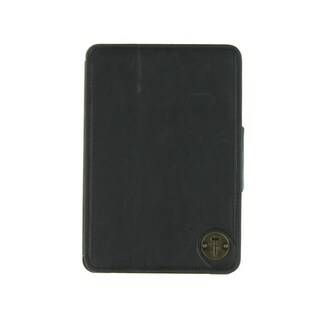 Focused Space Fold Over Stand Magnetic Closure iPad Case