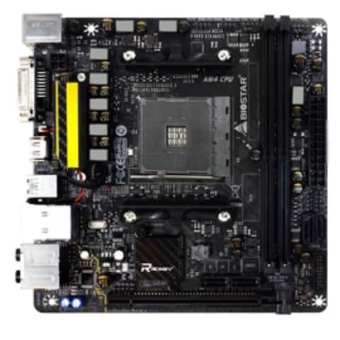 Biostar Motherboard X370GTN AMD A-series AM4 X370 up to 32GB DDR4 HDMI/DVI-D PCI Express Mini-ITX Retail