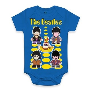 The Beatles Yellow Submarine Baby Snapsuit