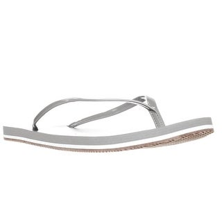 Splendid Firefly Flip Flop Slide Sandals, Grey
