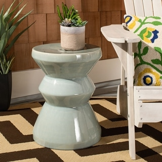 Link to Safavieh Larsa Indoor / Outdoor Ceramic Decorative Garden Stool Similar Items in Outdoor Decor