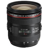 Canon EF 24-70mm f/4L IS USM Lens (Open Box)