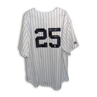 Tommy John New York Yankees Autographed Majestic Jersey Inscribed 81 AL Champs