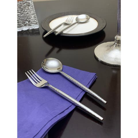 VIBHSA Dinner Forks and Dinner Spoons Set of 8 Pieces
