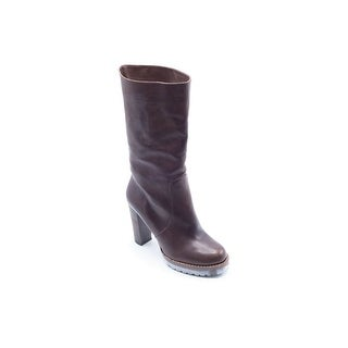 Brunello Cucinelli Women's Brown Leather Calf Boots