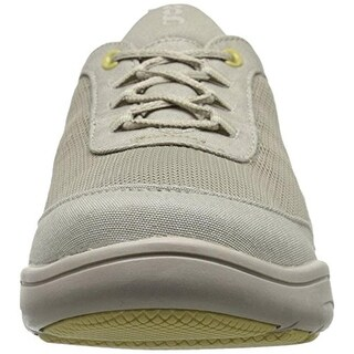 Grasshoppers Womens Mesh Contrast Trim Fashion Sneakers