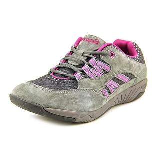 Propet Leila Round Toe Suede Walking Shoe