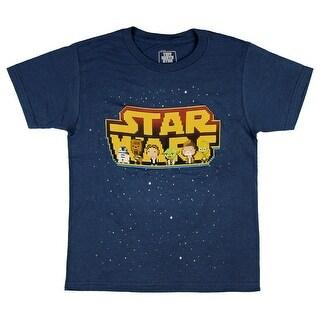 Star Wars Tiny Death Star Rebels Boy's T-Shirt