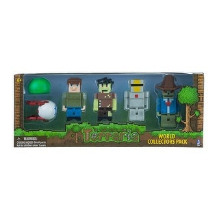 """Terraria World Collector's 6-Pack 3"""" Action Figure - Multi"""
