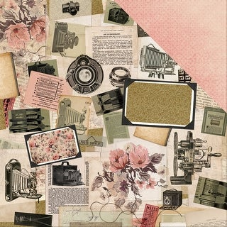 "Keepsake Double-Sided Cardstock 12""X12""-Collage"