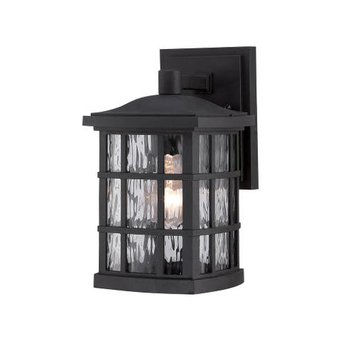 Aun 1-light Small Wall Lantern by Havenside Home