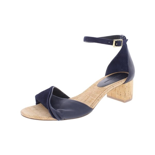 Diane Von Furstenberg Womens Florence Heels Block Heel
