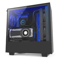 H500i No Power Supply ATX Mid Tower with Lighting & Fan Control&#44