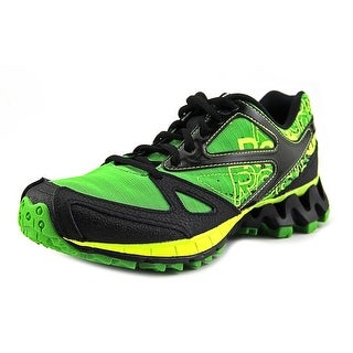 Reebok Zigkick Trail 1.0 Youth Round Toe Synthetic Green Trail Running