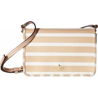 New York Hyde Lane Stripe Renee Handbag - Classic Camel/Cream -