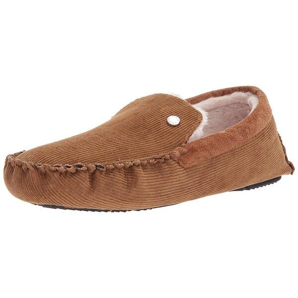 Steve Madden Mens PFIRE Faux Fur Closed Toe Slip On Shoes