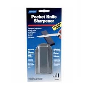 "Norton 87600 Pocket Knife Sharpener, Fine, 3"" x 7/8"" x 3/8"""