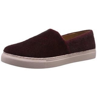 Clover Canyon Womens Faux Fur Slip On Casual Shoes