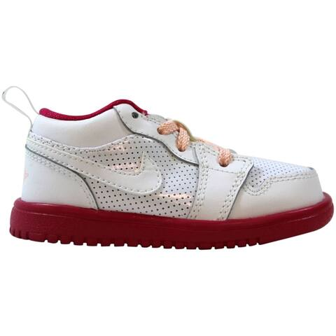 Nike Air Jordan 1 Low Flex White/Voltage Cherry-Storm Pink 554721-118 Toddler