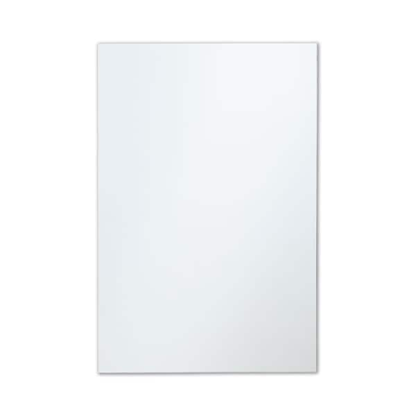 Frameless Polished Edge Rectangle Wall Mirror. Opens flyout.
