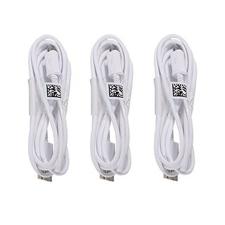 Replacement Micro USB Cable for Samsung Devices-- Three Cables