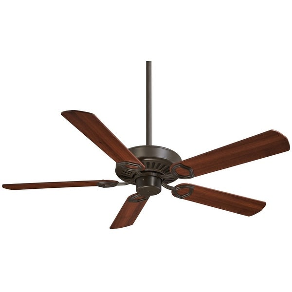 "MinkaAire Ultra-Max 5 Blade 54"" Ceiling Fan - Wall Control, Handheld Remote Control and Blades Included"