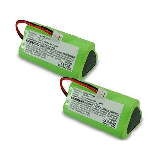 Replacement Battery for Shark EPV170VX / XB1705 Battery Models (2 Pack)