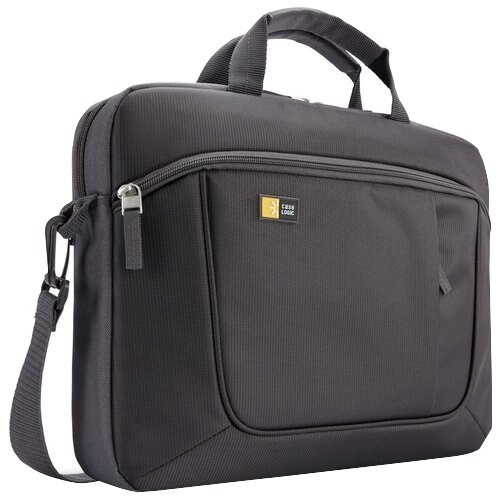 """""""Case Logic AUA-316ANTHRACITE Case Logic Carrying Case for 15.6"""" Notebook, iPad - Anthracite - Polyester - Luggage Strap,"""