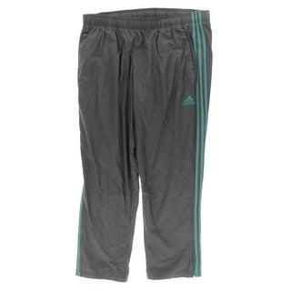 Adidas Mens Athletic Pants Stripe Drawstring - 2XL
