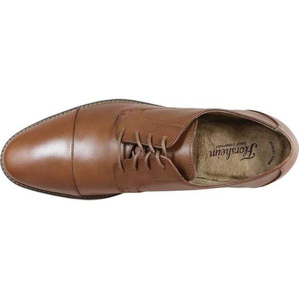 Matera Cap Toe Oxford II Mocha Leather