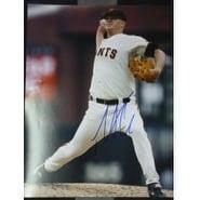 Signed Cain Matt San Francisco Giants 11x14 autographed