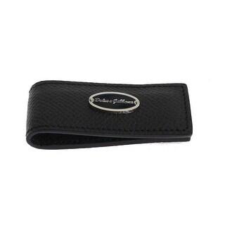 Dolce & Gabbana Dolce & Gabbana Blue Leather Magnet Money Clip - One size