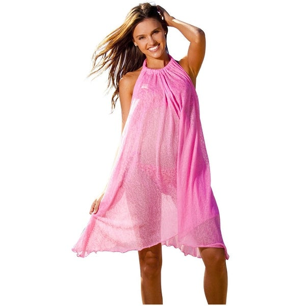 3eeb3c831f Shop Ingear Short Tent Dress Swimsuit Cover Up - On Sale - Free Shipping On  Orders Over $45 - Overstock - 15414517