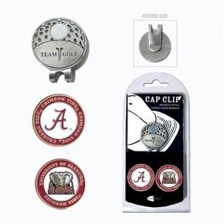 Team Golf 20147 Alabama Crimson Tide Golf Ball Marker Hat Clip