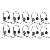 Plantronics EncorePro HW720 Noise-Canceling Stereo Corded Headset 78714-101 (10 Pack)