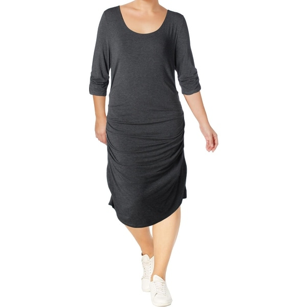 Lysse Womens Casual Dress Modal Ruched