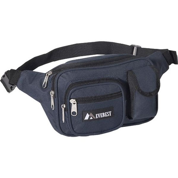 2aaed764bb3b Everest Multiple Pocket Fanny Pack (Set of 2) Navy - US One Size (Size None)